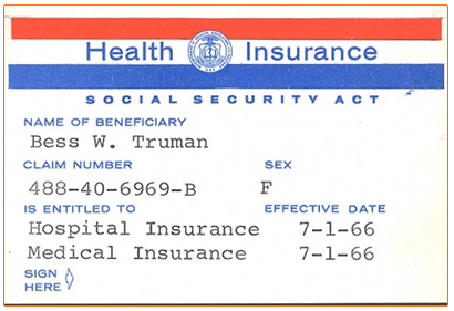 The Medicare Card - BComing65